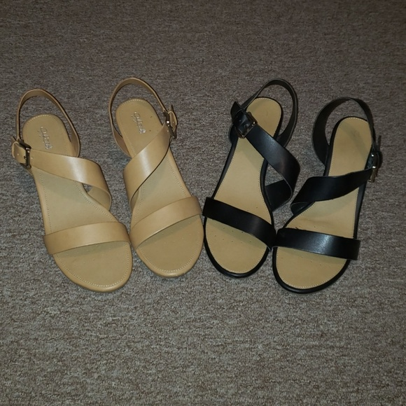 2173732665 Jaclyn Smith Shoes - Barely worn Jaclyn Smith mini wedge sandals